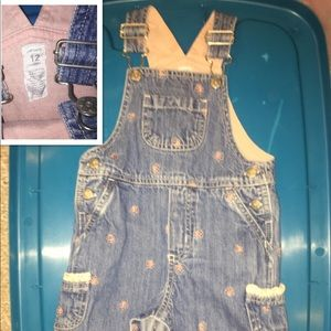 Carter's 12 Month Overalls